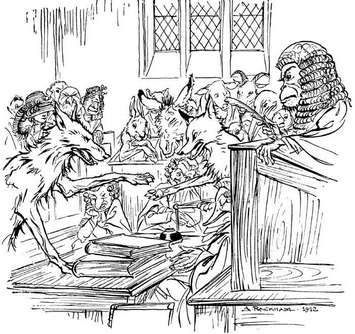 Loup et moralité dans LOUP Esope_Loup_Renard_Singe_Tome_II-dd646